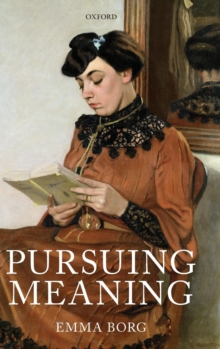 Pursuing Meaning, Hardback Book