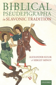 Biblical Pseudepigrapha in Slavonic Tradition, Hardback Book