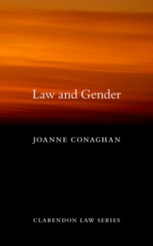 Law and Gender, Hardback Book