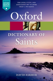 The Oxford Dictionary of Saints, Fifth Edition Revised, Paperback Book