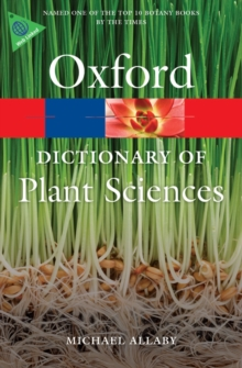 A Dictionary of Plant Sciences, Paperback Book