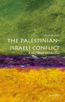 The Palestinian-Israeli Conflict: A Very Short Introduction, Paperback / softback Book