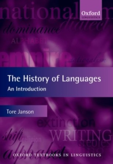 The History of Languages : An Introduction, Paperback / softback Book