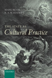 The State as Cultural Practice, Paperback / softback Book