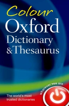 Colour Oxford Dictionary & Thesaurus, Paperback Book