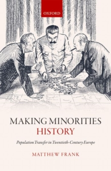 Making Minorities History : Population Transfer in Twentieth-Century Europe, Hardback Book
