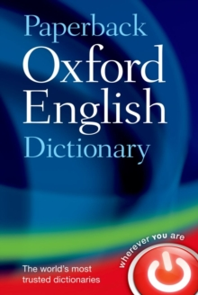Paperback Oxford English Dictionary, Paperback / softback Book
