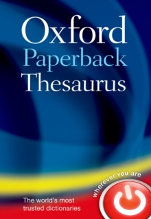 Oxford Paperback Thesaurus, Paperback / softback Book