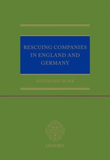 Rescuing Companies in England and Germany, Hardback Book