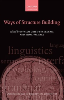 Ways of Structure Building, Paperback / softback Book
