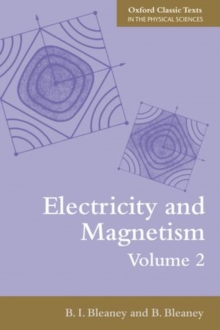 Electricity and Magnetism, Volume 2, Paperback / softback Book