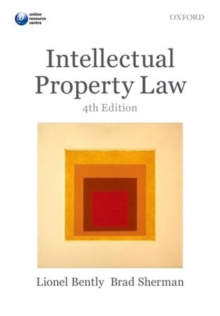 Intellectual Property Law, Paperback Book