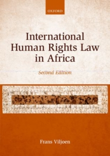 International Human Rights Law in Africa, Paperback / softback Book