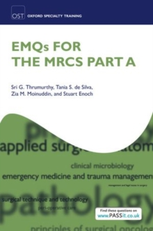 EMQs for the MRCS Part A, Paperback / softback Book