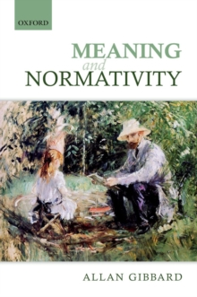 Meaning and Normativity, Hardback Book