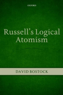 Russell's Logical Atomism, Hardback Book