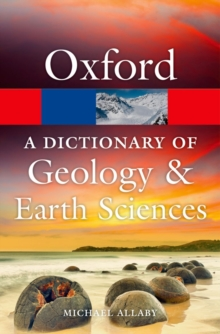 A Dictionary of Geology and Earth Sciences, Paperback Book