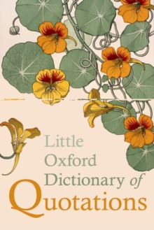 Little Oxford Dictionary of Quotations, Hardback Book