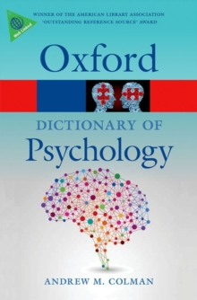 A Dictionary of Psychology, Paperback Book