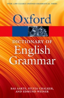 The Oxford Dictionary of English Grammar, Paperback Book