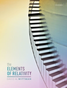 The Elements of Relativity, Hardback Book