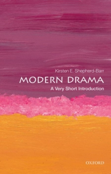 Modern Drama: A Very Short Introduction, Paperback / softback Book