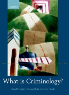 What is Criminology?, Paperback / softback Book