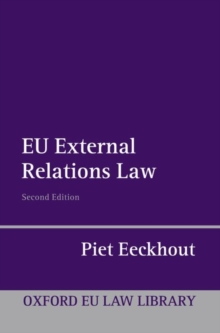 EU External Relations Law, Paperback / softback Book