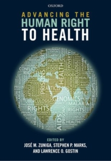 Advancing the Human Right to Health, Hardback Book