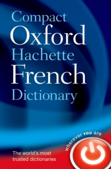 Compact Oxford-Hachette French Dictionary, Paperback Book