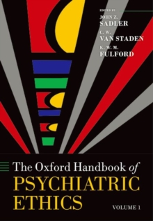 The Oxford Handbook of Psychiatric Ethics, Multiple copy pack Book