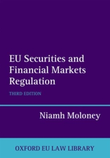 EU Securities and Financial Markets Regulation, Hardback Book