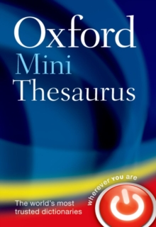 Oxford Mini Thesaurus, Paperback Book