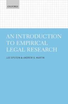 An Introduction to Empirical Legal Research, Paperback / softback Book
