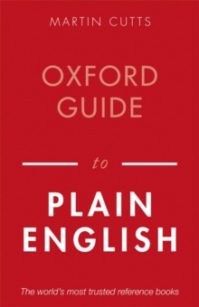 Oxford Guide to Plain English, Paperback Book