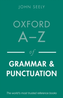Oxford A-Z of Grammar and Punctuation, Paperback Book
