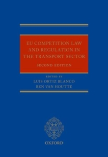 EU Regulation and Competition Law in the Transport Sector, Hardback Book