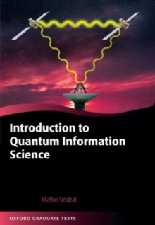 Introduction to Quantum Information Science, Paperback / softback Book