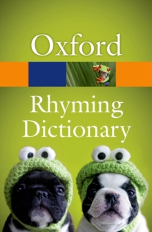 New Oxford Rhyming Dictionary, Paperback Book