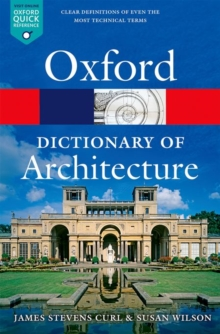 The Oxford Dictionary of Architecture, Paperback / softback Book
