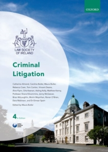 Criminal Litigation, Paperback / softback Book