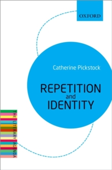 Repetition and Identity : The Literary Agenda, Paperback / softback Book