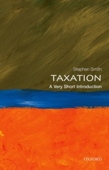 Taxation: A Very Short Introduction, Paperback / softback Book