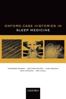 Oxford Case Histories in Sleep Medicine, Paperback / softback Book