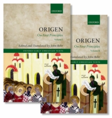 Origen : On First Principles, Multiple copy pack Book