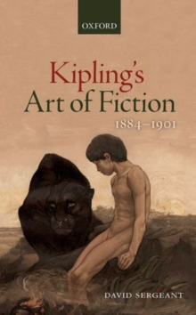 Kipling's Art of Fiction 1884-1901, Hardback Book