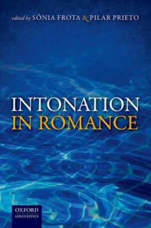 Intonation in Romance, Hardback Book