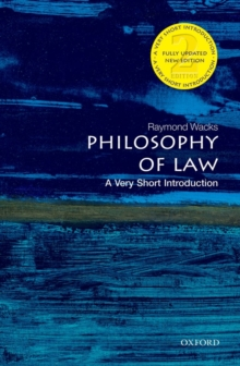 Philosophy of Law: A Very Short Introduction, Paperback Book
