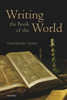 Writing the Book of the World, Paperback Book