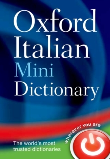 Oxford Italian Mini Dictionary, Paperback Book